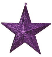 GLITTER STARS - PURPLE - Purple