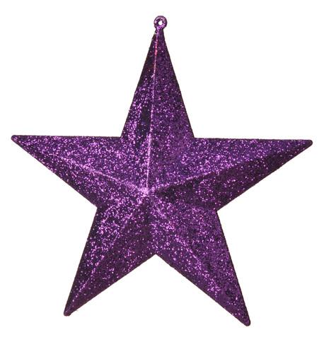 GLITTER STARS - PURPLE Purple