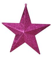 GLITTER STARS - PINK - Pink