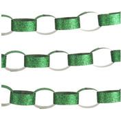 GLITTER PAPER CHAIN GREEN - Green