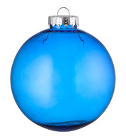 CLEAR BAUBLES - BLUE - Blue
