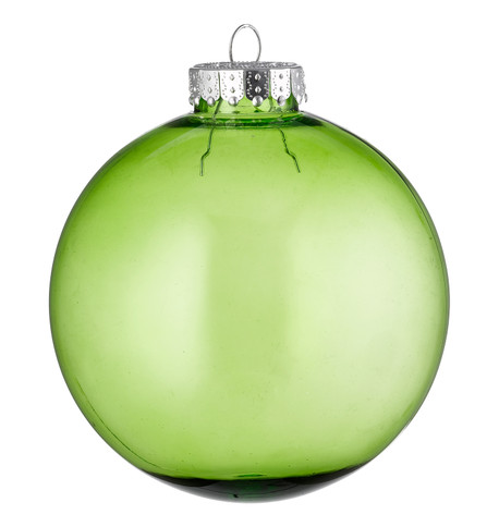 CLEAR BAUBLES - GREEN Green