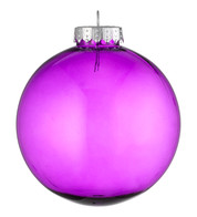 CLEAR BAUBLES - PURPLE - Purple