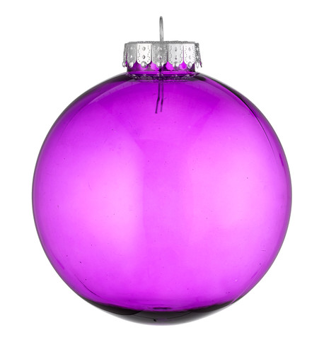 CLEAR BAUBLES - PURPLE Purple