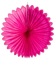 FLOWER FAN - PINK - Pink