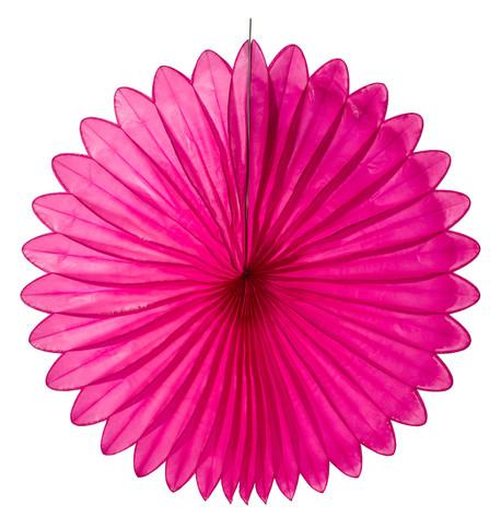 FLOWER FAN - PINK Pink