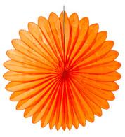 FLOWER FAN - ORANGE - Orange