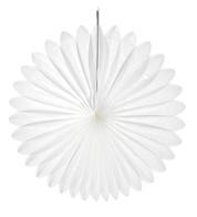 FLOWER FAN - WHITE - White