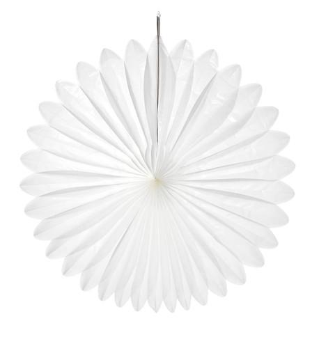 FLOWER FAN - WHITE White