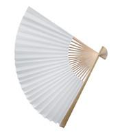 PAPER FAN - WHITE - White