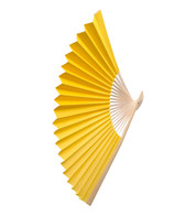 PAPER FAN - YELLOW - Yellow
