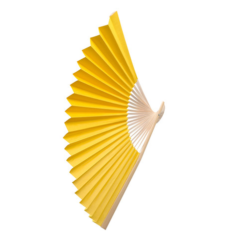 PAPER FAN - YELLOW Yellow