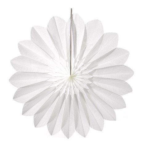 DAISY FAN - WHITE White