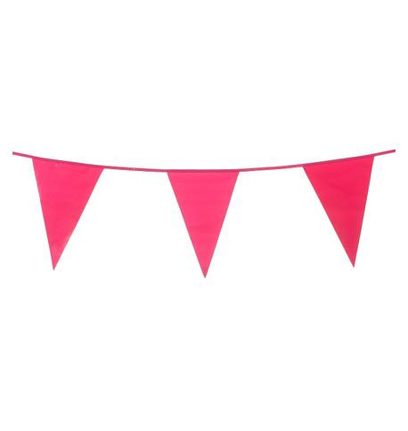 PVC BUNTING - PINK Pink
