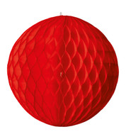 PAPER BALL - RED - Red