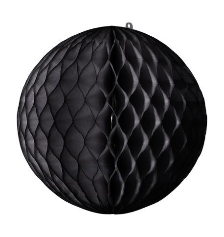 PAPER BALL - BLACK Black